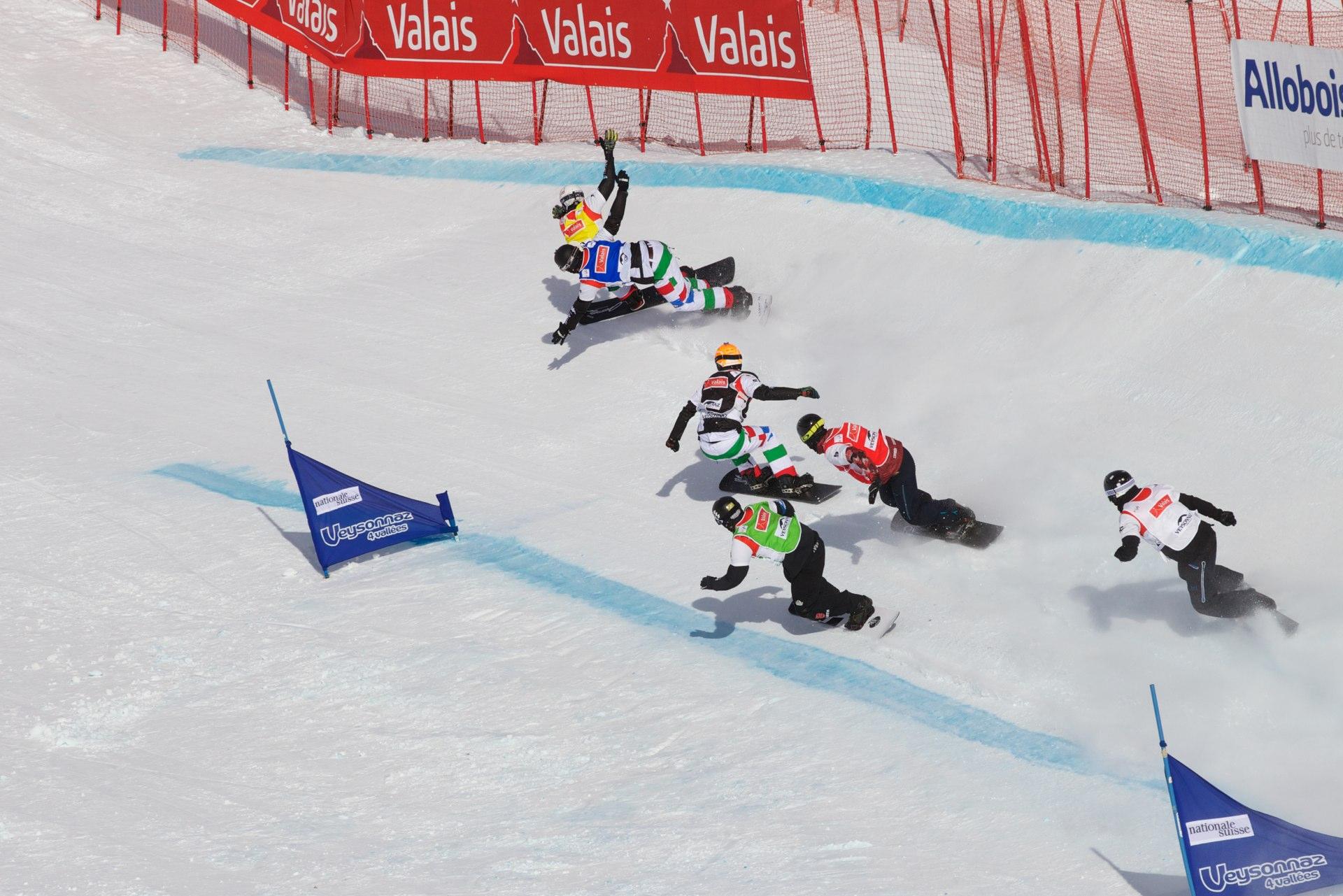 Finale des SBX World Cup Veysonnaz